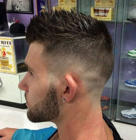 Cortes de hombre modernos for Peinado fade