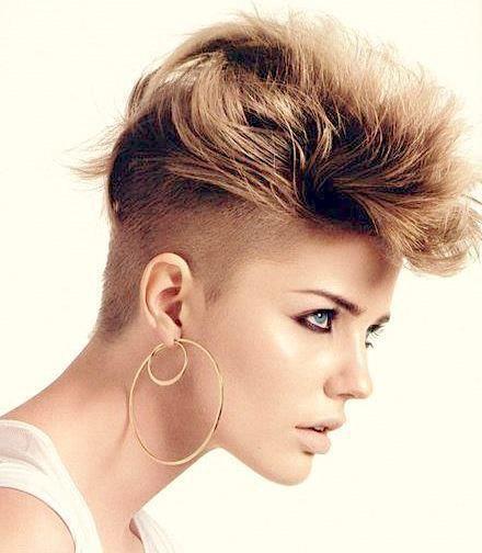 a pelo chica