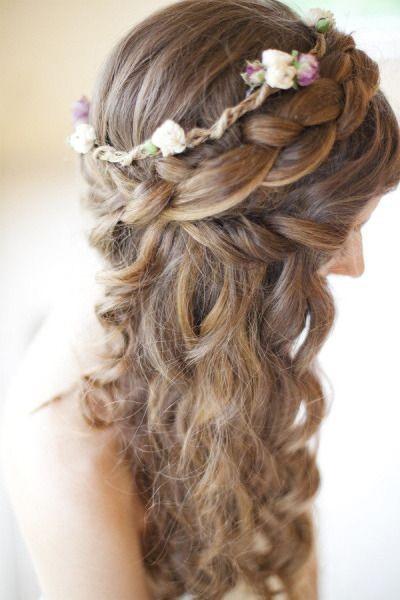 peinado con trenzas y rulos para aos u peinados bonitos paso a bonitos paso a paso - Peinados Bonitos
