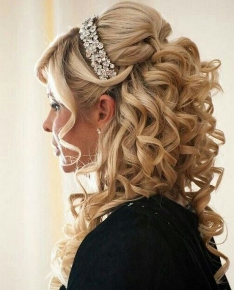 Peinados con rizos para quincea eras - Peinados de fiesta con rizos ...