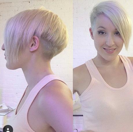 ... Pixie Peinado con Lado Flequillo largo – corto corte recto 2016