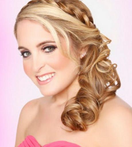 Peinados semirecogidos para novia related keywords - Peinados de fiesta ...