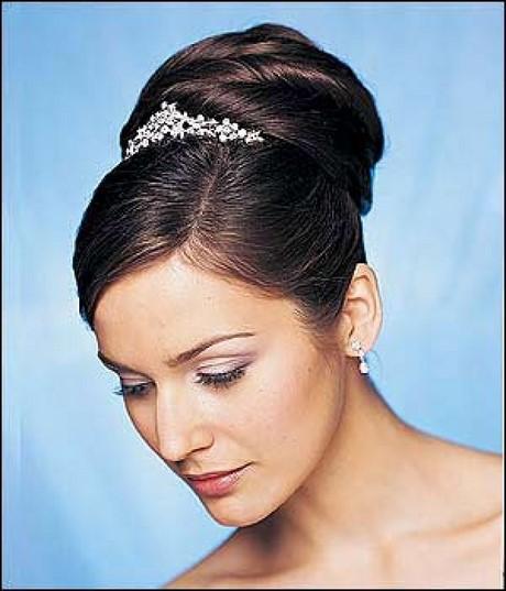 aqu las mejores imgenes de lindos peinados con moos para novias como fuente de inspiracin - Peinados De Moos