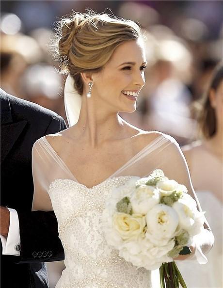 Peinados de novia con pelo recogido - Peinados de novia recogido ...