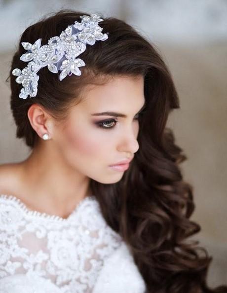 peinados de novia para un lado