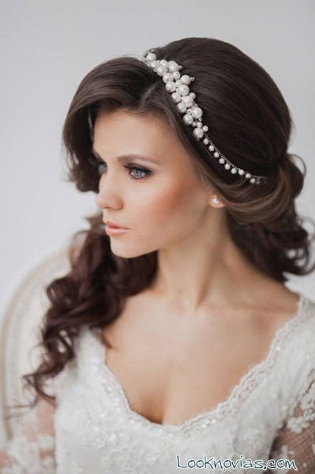 Peinados de novia pelo recogido - Recogido de novia ...