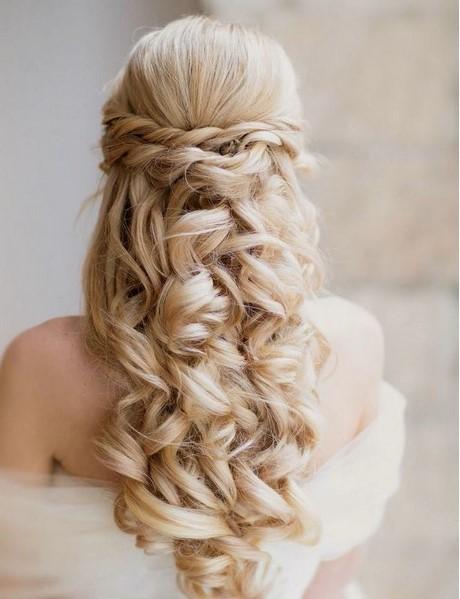 Peinados de novia semirecogidos con trenzas - Semirecogidos con trenzas ...