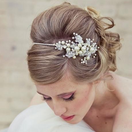 Peinados recogidos para novias con velo - Recogidos altos para bodas ...
