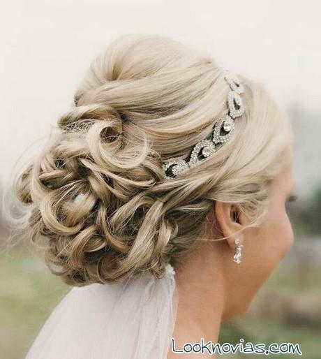 Peinados recogidos para novias con velo - Recogidos para novia ...