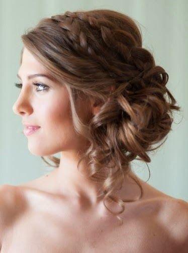 Recogidos de boda pelo largo - Ideas para peinar cabello largo ...