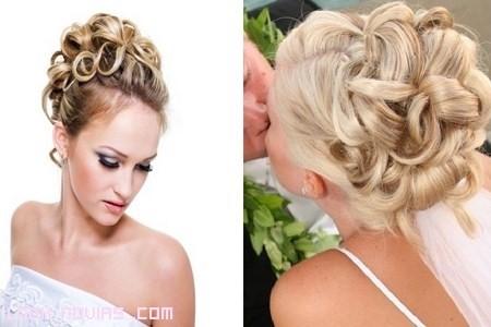 Recogidos novia pelo largo for Recogidos altos para novias
