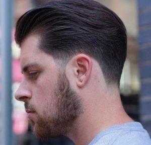 Corte de pelo moda 2018 hombre for Peinado hacia atras hombre