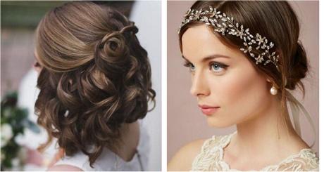 Peinados bodas invitadas media melena - Peinados melena corta ...