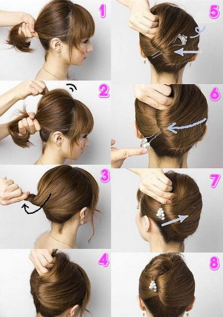 Peinados bonitos y sencillos for Recogidos bonitos y sencillos