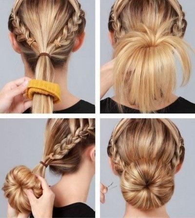 Peinados cabello largo recogido paso a paso - Peinados faciles recogidos paso a paso ...