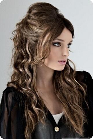 peinados cabello largo suelto - Peinados Pelo Largo Suelto