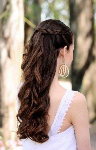 Peinados medio recogidos para bodas - Peinados elegantes para una boda ...