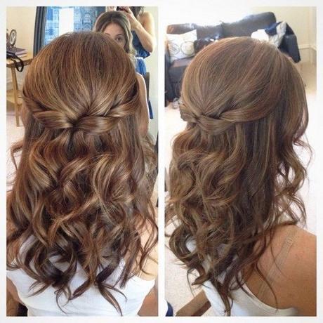 peinados ondulados semirecogidos - Peinados Ondulados