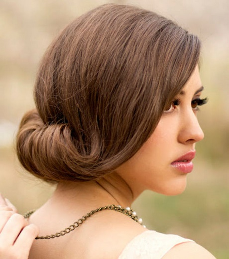 Peinados para bodas media melena - Peinados melena corta ...