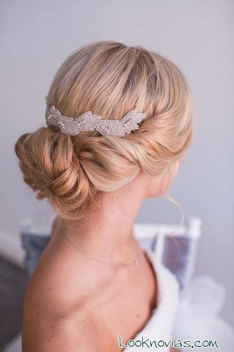peinados para bodas mo os bajos