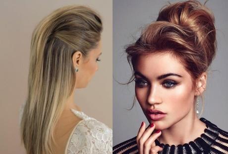 peinados para cabello largo liso semirecogido - Semirecogidos Pelo Liso