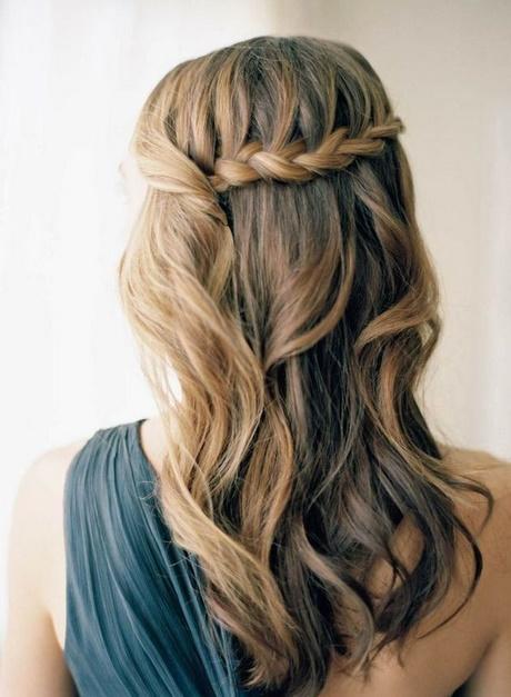 peinados para fiestas semirecogidos trenzas - Peinados De Fiesta Semirecogidos