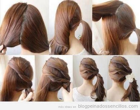 Peinados recogidos para fiestas paso a paso - Ver peinados de fiesta paso a paso ...
