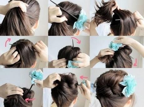 Peinados recogidos sencillos para fiestas paso a paso - Ver peinados de fiesta paso a paso ...