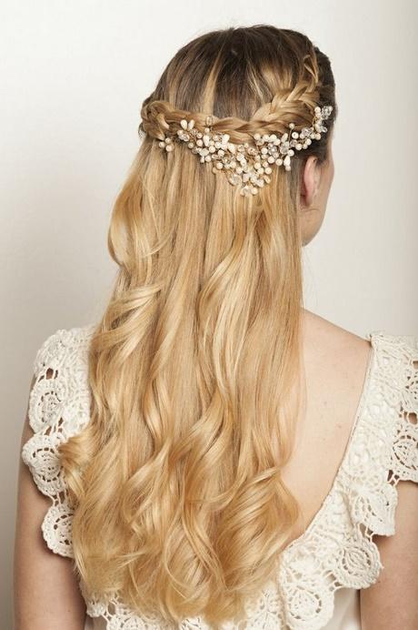 Peinados semirecogidos con rulos para fiestas - Peinados de semirecogido ...