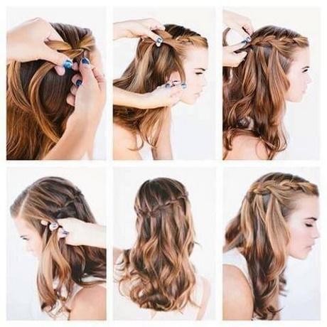 Peinados semirecogidos con trenzas paso a paso - Como hacer trenzas sencillas ...