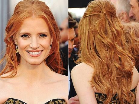 Peinados semirecogidos pelo medio - Peinados de semirecogido ...