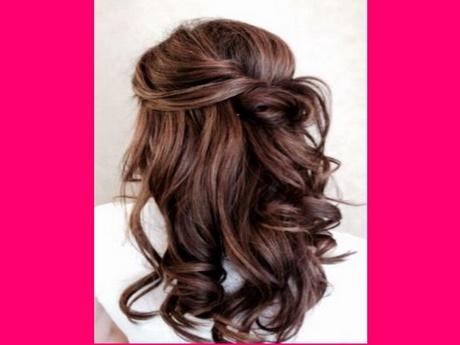 Peinados Sencillos Medio Recogidos