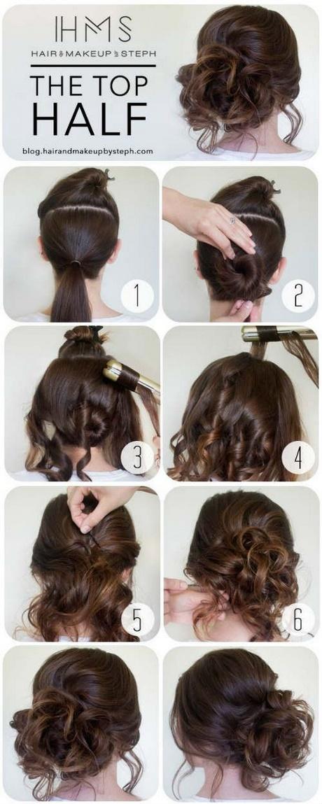 Peinados Sencillos Pelo Recogido