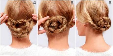 Peinados sencillos recogidos con trenzas - Como hacer trenzas sencillas ...