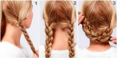 Peinados sencillos recogidos con trenzas - Peinados recogidos con trenzas ...