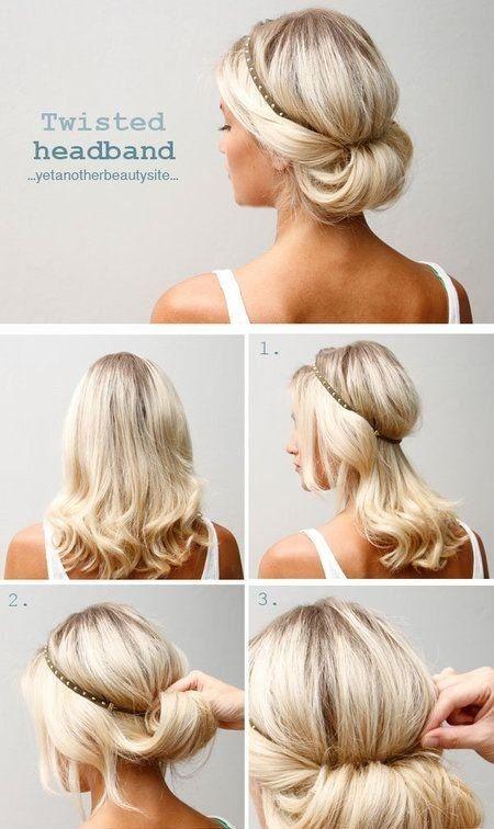 Peinados sencillos recogidos paso a paso - Peinados faciles recogidos paso a paso ...