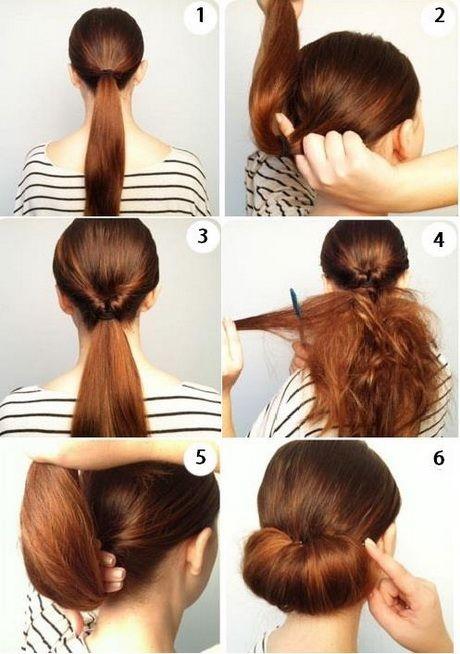Peinados sencillos recogidos paso a paso - Peinados faciles paso a paso ...