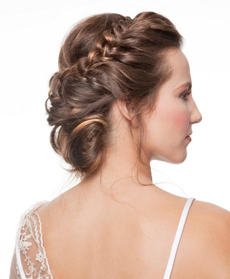 Recogidos para una boda de noche - Peinados elegantes para una boda ...