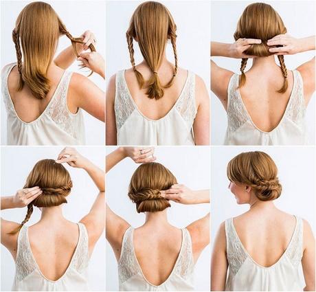 Recogidos sencillos para bodas paso a paso - Peinados elegantes para una boda ...