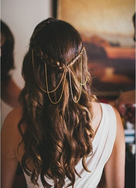 35 Wedding Hairstyles Discover Next Year S Top Trends For: Semirecogidos Para Pelo Largo