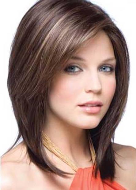 cortes de pelo sexys y femeninos mujer chic - Cortes De Pelo Medio