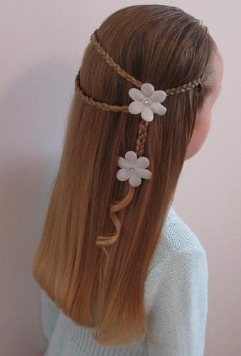 peinados para nias fciles rapidos y bonitos mujeres femeninas - Peinados De Ninas