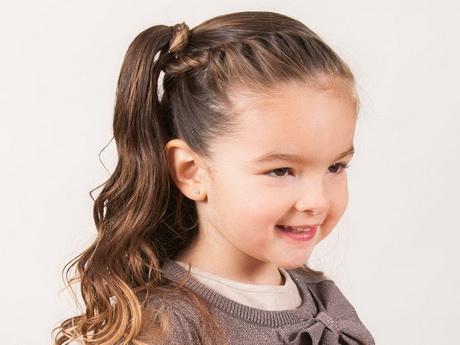 peinados de niñas de 8 años