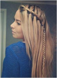 imagenes de trenzas pelo largo peinados pinterest - Trenzas Pelo Largo
