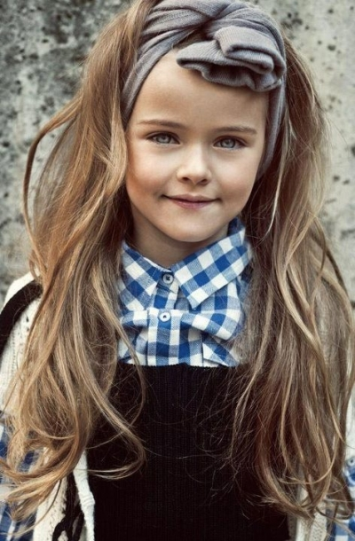 9 Stunning Modern French Manicure Ideas: Peinados Para Niñas De 7 Años
