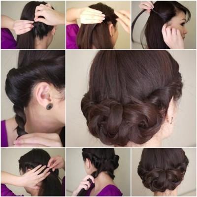 Peinados Paso A Paso Sencillos
