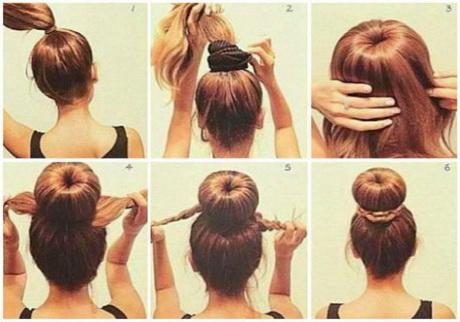 Peinados sencillos de hacer paso a paso - Como hacer peinados faciles y bonitos ...