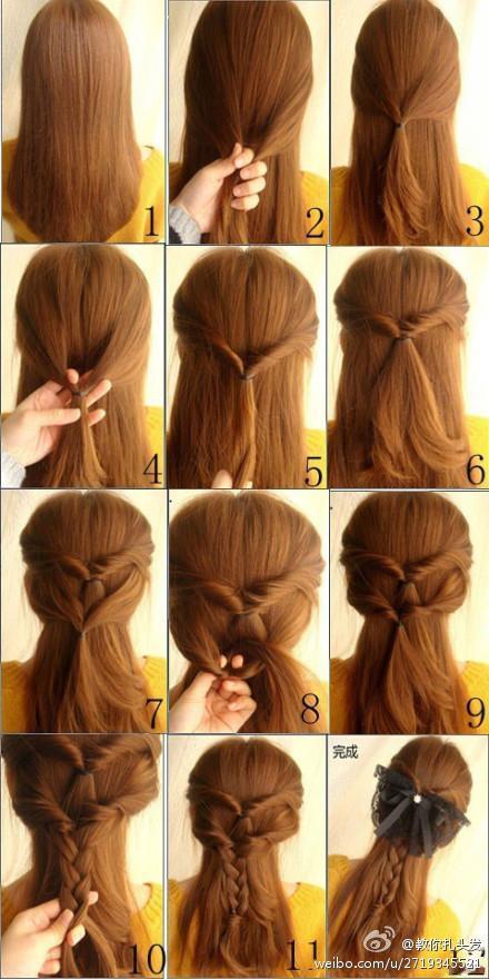 peinados sencillos de hacer paso a paso