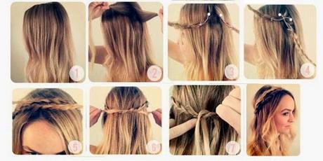 Peinados sueltos con trenzas paso a paso - Como hacer peinados faciles y rapidos paso a paso ...