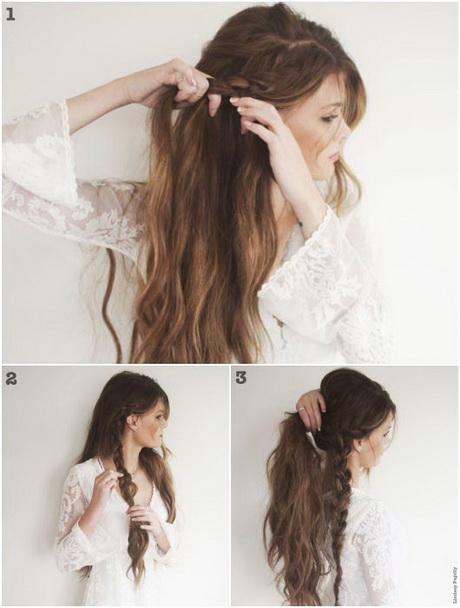 Peinados sueltos con trenzas paso a paso - Peinados paso a paso trenzas ...